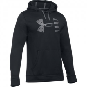 Under Armour Freedom Storm Tonal BFL Men's Pullover Hoodie in Black - Small