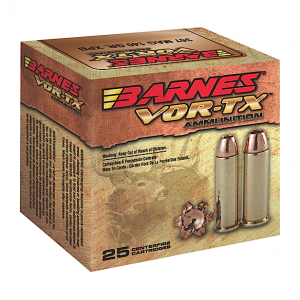 Barnes Bullets VOR-TX .454 Casull XPB, 250 Grain (20 Rounds) - 22024