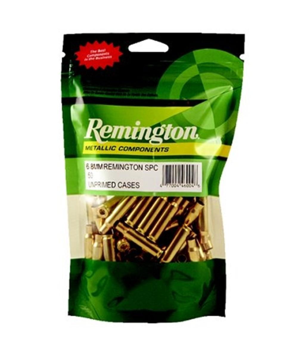 Remington Unprimed Brass Cases 8MM Remington Mag 50/Bag RC8MMG
