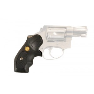 Desantis Gunhide Clip Grip Right-Hand Belt Holster for Smith & Wesson J-Frame in Black Polymer - T07BA02Z0