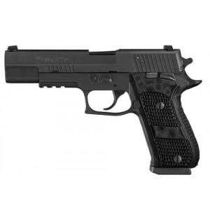 "Sig Sauer P220-10 Full Size Elite 10mm 8+1 5"" Pistol in Black Nitron (Manual Thumb Safety) - 220R510BSESAO"