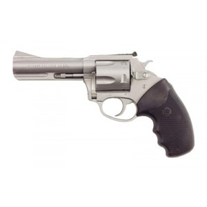 """Charter Arms Bulldog .44 Special 5-Shot 4.2"""" Revolver in Fired Case, Stainless Steel - 74442"""