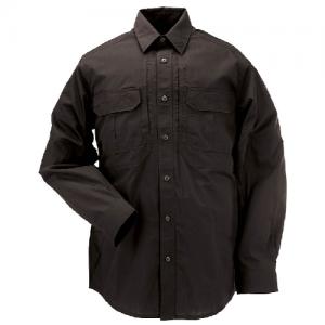 5.11 Tactical Taclite Pro Men's Long Sleeve Uniform Shirt in Black - Large