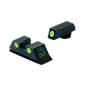 Meprolight Green Front/Rear Tru-Dot Fixed Sights For Glock 10MM/45 Caliber 10222