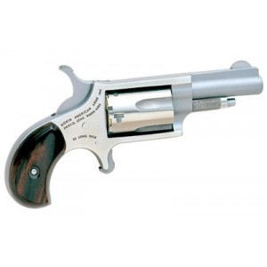 "North American Arms Mini-Revolver .22 Long Rifle 5-Shot 1.125"" Revolver in Stainless - NAA-22LRR"