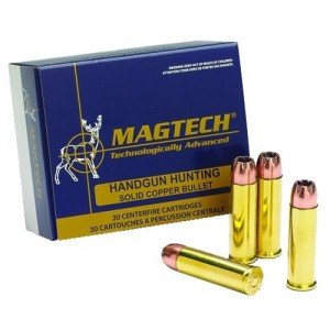 Magtech Ammunition Sport .44 Remington Magnum Semi Jacketed Soft Point, 240 Grain (50 Rounds) - 44A