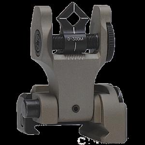 Troy DOARFFT00 Battle Sight Rear Di-Optic Aperture (DOA) Folding Universal Flat