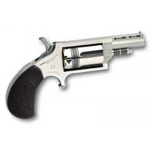 """North American Arms Wasp .22 Winchester Magnum 5-Shot 1.62"""" Revolver in Stainless (The Wasp) - 22MTW"""
