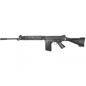 "DS Arms SA58 .308 Winchester/7.62 NATO 20-Round 21"" Semi-Automatic Rifle in Black - SA5821S-A"