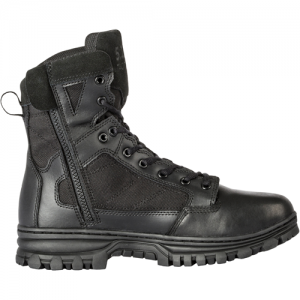 EVO 6  Waterproof Boot with Side Zip Color: Black Size: 10 Width: Regular