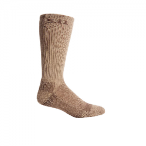 Level I 9  Sock- Regular Thickness Color: Coyote Brown