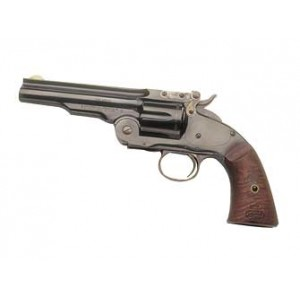 "Cimarron Model 3 Schofield .45 Long Colt 6-Shot 5"" Revolver in Blued - CA855"