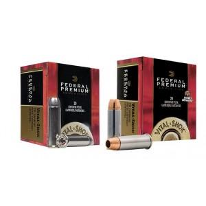 Federal Cartridge Vital-Shok .454 Casull Swift A-Frame, 300 Grain (20 Rounds) - PD454SA