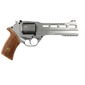 "Chiappa Rhino 60DS .357 Remington Magnum/.38 Special 6+1 6"" Pistol in Hard Chrome - CF340.249"