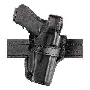 "Safariland Model 070 SSIII Mid-Ride Level III Right-Hand Belt Holster for AMT Hardballer in Black Basketweave (5"") - 070-53-181"