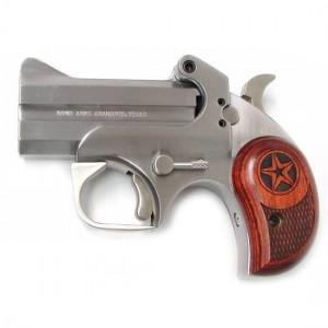 "Bond Arms Texas .357 Remington Magnum 2-Shot 3"" Derringer in Satin Stainless (Defender) - BATD"