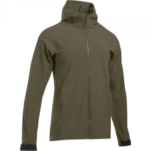 Under Armour Softshell 3.0 Men's Full Zip Jacket in Marine OD Green - 3X-Large