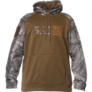 5.11 Tactical Diablo Men's Pullover Hoodie in Battle Brown - 2X-Large