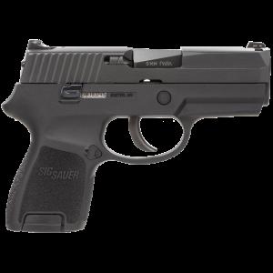 "Sig Sauer P250 SubCompact .40 S&W 10+1 3.6"" Pistol in Black Nitron (No Manual Safety) - 250SC40B"