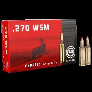 Ruag Ammotec Usa Inc .270 Winchester Short Magnum Express Tip, 130 Grain (20 Rounds) - 283840020
