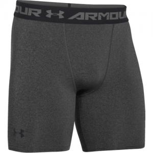 Under Armour Armour Heatgear Men's Underwear in Carbon Heather/Black - Medium