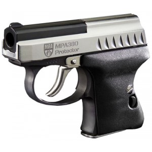 "Masterpiece Arms 380S Protector Sub Compact .380 ACP 6+1 2.25"" Pistol in Black - MPA380SII"