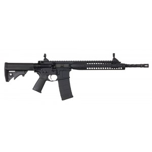 "LWRC IC-A5 .223 Remington/5.56 NATO 30-Round 16.10"" Semi-Automatic Rifle in Matte Black - ICA5R5B16"