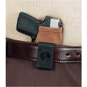 "Galco International Stow-N-Go Right-Hand IWB Holster for Glock 26, 27, 33 in Natural (1.75"") - STO286"