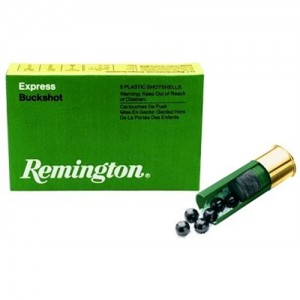 "Remington Express .12 Gauge (2.75"") 0 Buck Shot Lead (5-Rounds) - 12BK0"