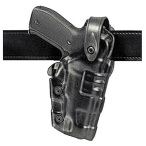 Safariland Mid Ride Right-Hand Belt Holster for Taurus PT-92, PT-99 in Black - 60707391