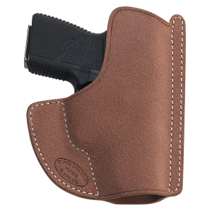 El Paso Saddlery HSLC9LRR High Slide Ruger LC9 w/Laser Leather Russet - HSLC9LRR