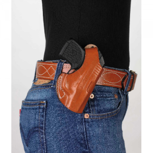 Desantis Gunhide The Maverick Right-Hand Belt Holster for Kel-Tec P3At in Black - 012BAT7Z0