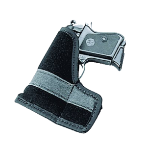 "Uncle Mike's I-T-P Ambidextrous-Hand Pocket  Holster for 5-Shot Revolvers/Sigma 380 in Black (2"") - 8744"