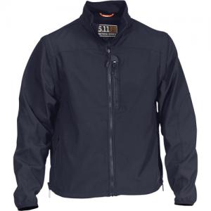 5.11 Tactical Valiant Softshell Men's Full Zip Jacket in Dark Navy - X-Large