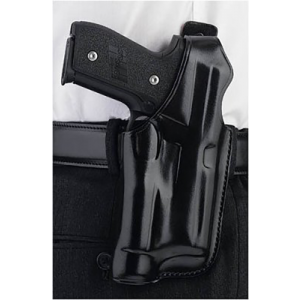 """Galco International Halo Right-Hand Belt Holster for Smith & Wesson M&P in Black (4"""") - HLO472B"""