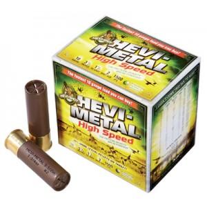 """Hevishot Hevi-Metal High Speed .10 Gauge (3.5"""") 2 Shot Steel (25-Rounds) - 36002"""