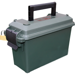 "MTM 30 Caliber Ammo Can (5"" x 11.3"" x 7.2"") in Polymer Forest Green - AC30T11"
