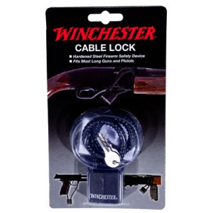 """Winchester 15"""" Steel Cable Gun Lock for Handgun and Rifle 363035"""