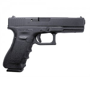 "Glock 17 9mm 17+1 4.49"" Pistol in Matte Black (Gen 3) - PI1759203"
