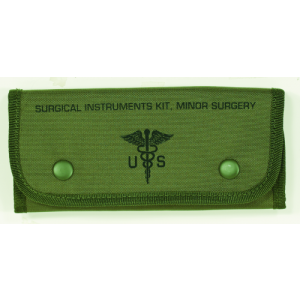 Empty Surgical Kit Pouches  Color: OD Green