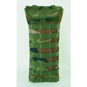 Hydration Carrier with Removable Harness Color: Woodland Camo