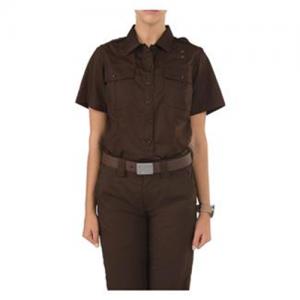 5.11 Tactical PDU Class A Men's Uniform Shirt in Brown - Medium