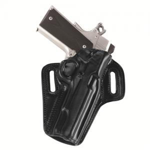CONCEALABLE BELT HOLSTER Gun FIt: COLT - 4 1/4  1911 Color: BLACK Hand: Left Handed - CON267B