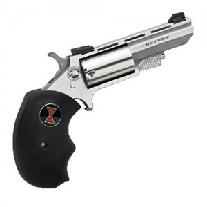 "North American Arms Magnum .22 Long Rifle 5-Shot 2"" Revolver in Stainless (Black Widow) - BWC"