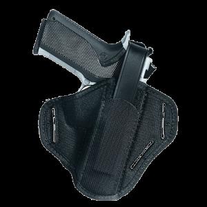 Uncle Mike's Slide Ambidextrous-Hand Belt Holster for Heckler & Koch USP, USP Compact in Black (30) - 8630