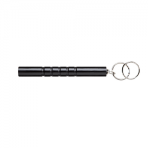 KKC Persuader(w/Key Chain  Monadnock Persuader Kubaton Solid polycarbonate for strength with flat end. Molded grooves to ensure a good grip. 5.5 inches long. Comes with 2 one inch diameter keyrings attached.