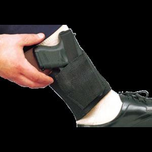 "Desantis Gunhide Apache Right-Hand Ankle Holster for Beretta Nano/Ruger LC9 in Black (3.07"") - 062BAMAZ0"