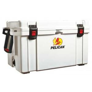 Pelican Progear 65q-mc Elite Cooler, Holds 72.75 Us Quarts, White 32-65q-mc-wht