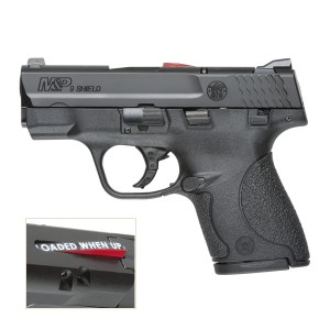 """Smith & Wesson M&P Shield .40 S&W 7+1 3.1"""" Pistol in Polymer (Chamber Indicator) - 187020"""