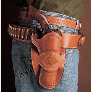 Desperado Cowboy Belt Holster Gun Fit: Colt SAA (5.5  bbl) Hand: Left Handed Color: Tan - 088TD55Z0